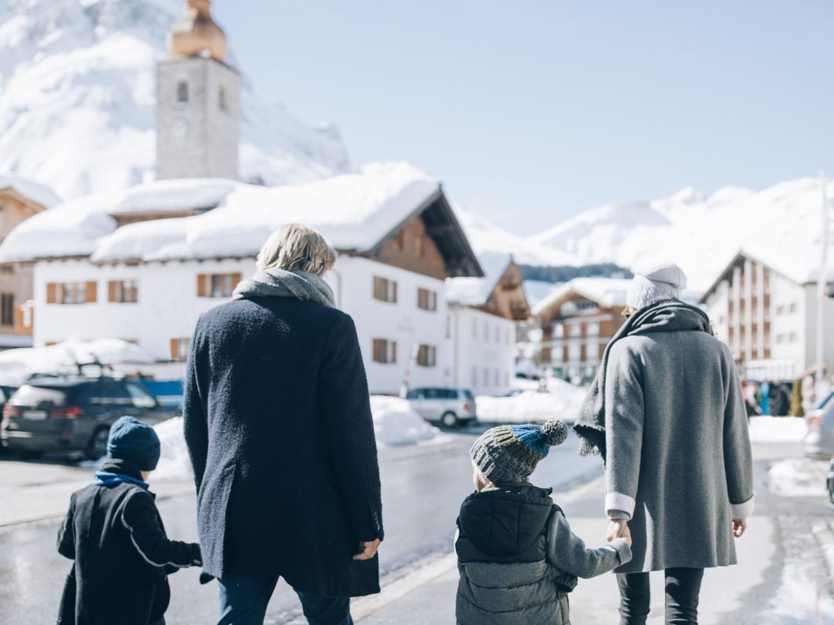 Winterwandern in Lech