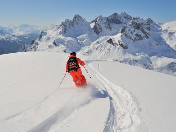 Freeride in Lech